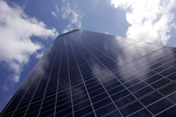 cis solar panels  18/05/06 pic simon pendrigh   DATE CREATED: DATE CREATED: