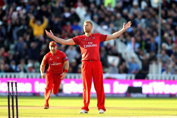 Nat West T20 Blast Finals Day  23 08 14 Edgbaston Lancashire Lightning v Warwicksjhire Bears  Final Flintoff
