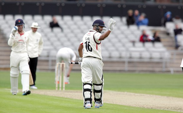 LANCASHIRE COUNTY CRICKET CLUB Emirates Old Trafford Alviro Peterson 50