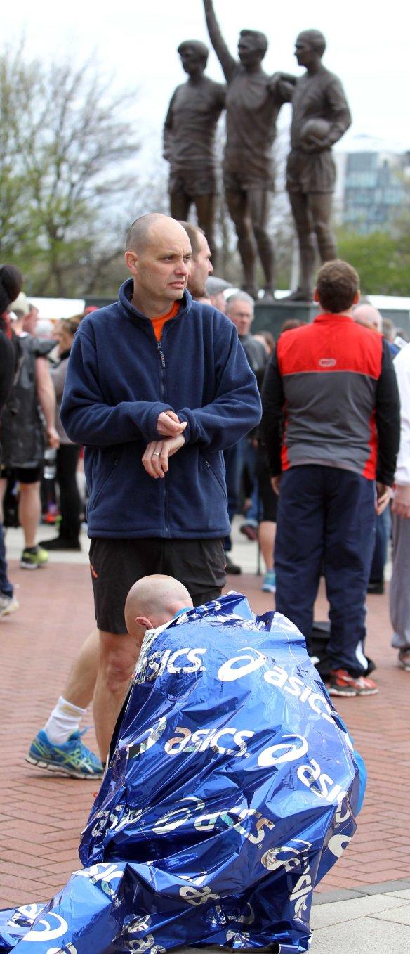 Manchester Marathon 2015  pre race