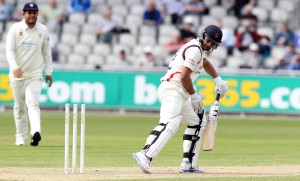 LANCASHIRE COUNTY CRICKET CLUB Emirates Old Trafford LV= County Championship LANCS V GLOUCESTERSHIRE 11/05/15 Day2 Alviro Petersen batting