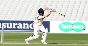 LANCASHIRE COUNTY CRICKET CLUB Emirates Old Trafford LV= County Championship LANCS V GLOUCESTERSHIRE 11/05/15 Day2 Paul Horton batting