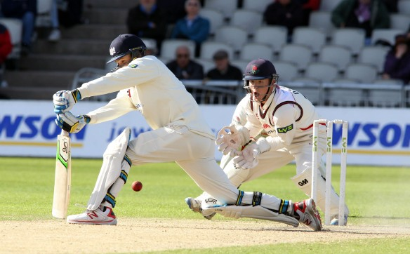 LANCASHIRE COUNTY CRICKET CLUB Emirates Old Trafford LV= County Championship LANCS V GLOUCESTERSHIRE 12/05/15 Day3