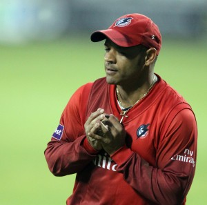 LANCASHIRE COUNTY CRICKET CLUB Emirates Old Trafford NatWest t20 Blast, North Group:  Lancashire Lightning v Leicestershire Foxes 15/05/15 Ashwell Prince takes the catch