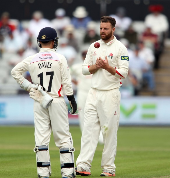 LANCASHIRE COUNTY CRICKET CLUB Emirates Old Trafford Lancashire v Northamptonshire LV= County Championship Division Two, 29/06/15 Arron Lilley