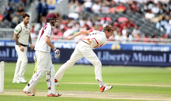 LANCASHIRE COUNTY CRICKET CLUB Emirates Old Trafford Lancashire v Northamptonshire LV= County Championship Division Two, 29/06/15 Tom Bailey