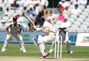 LANCASHIRE COUNTY CRICKET CLUB Emirates Old Trafford Lancashire v Northamptonshire LV= County Championship Division Two, 30/06/15 Karl Brown