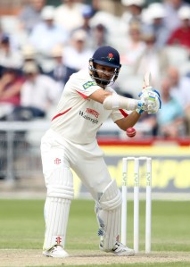LANCASHIRE COUNTY CRICKET CLUB Emirates Old Trafford Lancashire v Leicestershire LV= County Championship Division Two, 16/06/15 Ashwell Prince batting