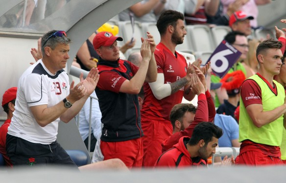 LANCASHIRE COUNTY CRICKET CLUB Emirates Old Trafford Lancashire Lightning v Derbyshire  Nat West t20 Blast 12/06/15