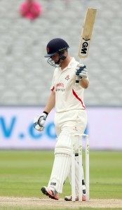 LANCASHIRE COUNTY CRICKET CLUB Emirates Old Trafford Lancs v Northants LV= County Championship Division Two, 02/07/15 Karl Brown 50
