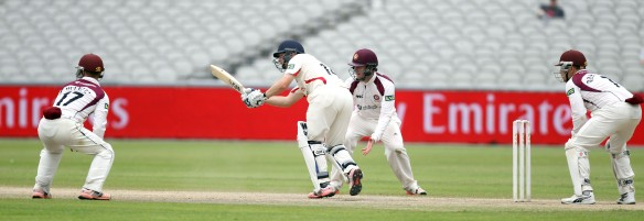LANCASHIRE COUNTY CRICKET CLUB Emirates Old Trafford Lancs v Northants LV= County Championship Division Two, 02/07/15 Karl Brown
