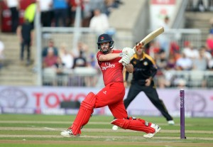 LANCASHIRE COUNTY CRICKET CLUB Emirates Old Trafford Lancashire Lightning v Yorkshire Vikings Nat West t20 Blast 03/07/15 Paul Horton