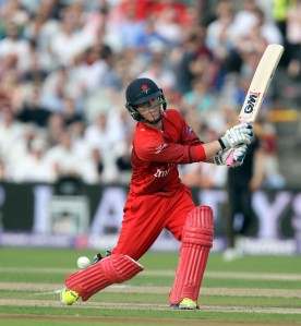 LANCASHIRE COUNTY CRICKET CLUB Emirates Old Trafford Lancashire Lightning v Yorkshire Vikings Nat West t20 Blast 03/07/15 Alex Davies