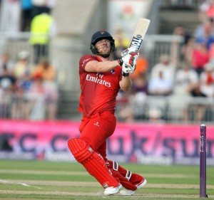 LANCASHIRE COUNTY CRICKET CLUB Emirates Old Trafford Lancashire Lightning v Yorkshire Vikings Nat West t20 Blast 03/07/15 Steven Croft