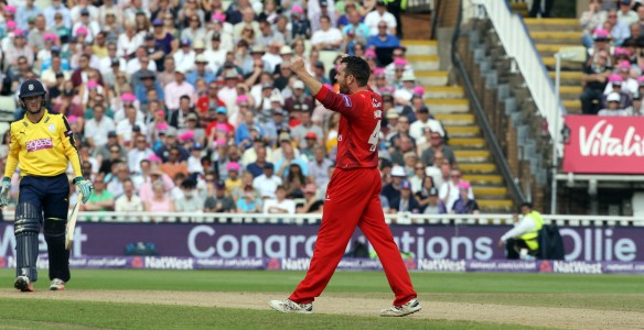 Nat West t20 Blast Finals day Edgbaston semi final LANCASHIRE COUNTY CRICKET CLUB v Hampshire 29/08/15 Lancs wickets Nat West t20 Blast Finals day Edgbaston semi final LANCASHIRE COUNTY CRICKET CLUB v Hampshire 29/08/15