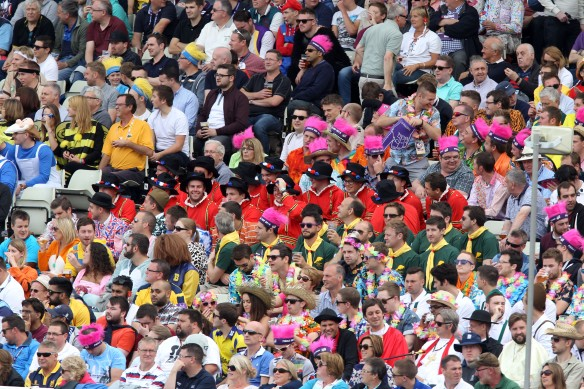 Nat West t20 Blast Finals day Edgbaston semi final LANCASHIRE COUNTY CRICKET CLUB v Hampshire 29/08/15