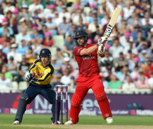 lancs batting Steven Croft Nat West t20 Blast Finals day Edgbaston semi final LANCASHIRE COUNTY CRICKET CLUB v Hampshire 29/08/15