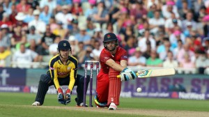 lancs batting Jos Buttler Nat West t20 Blast Finals day Edgbaston semi final LANCASHIRE COUNTY CRICKET CLUB v Hampshire 29/08/15