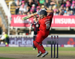 Ashwell Prince lancs batting FINAL Nat West t20 Blast Finals day Edgbaston LANCASHIRE COUNTY CRICKET CLUB V  Northants 29/08/15