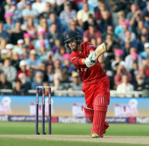 Alex Davies lancs batting FINAL Nat West t20 Blast Finals day Edgbaston LANCASHIRE COUNTY CRICKET CLUB V  Northants 29/08/15