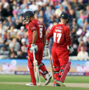Ashwell Prince Alex Davies lancs batting FINAL Nat West t20 Blast Finals day Edgbaston LANCASHIRE COUNTY CRICKET CLUB V  Northants 29/08/15
