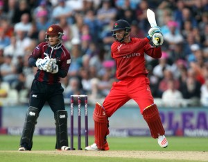 Jos Buttler lancs batting FINAL Nat West t20 Blast Finals day Edgbaston LANCASHIRE COUNTY CRICKET CLUB V  Northants 29/08/15