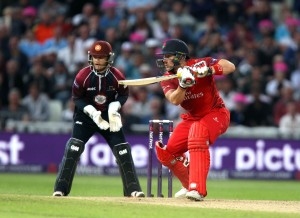 Steven Croft lancs batting FINAL Nat West t20 Blast Finals day Edgbaston LANCASHIRE COUNTY CRICKET CLUB V  Northants 29/08/15