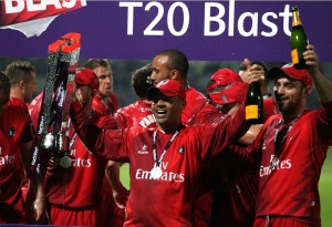 WINNERS of the  FINAL Nat West t20 Blast Finals day Edgbaston LANCASHIRE COUNTY CRICKET CLUB V  Northants 29/08/15