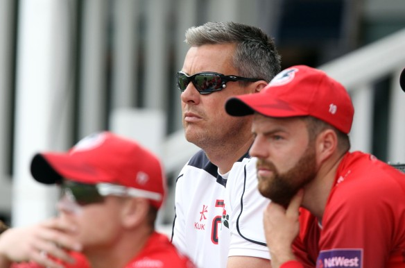KENT COUNTY CRICKET CLUB t20 blast Quarter final Kent v Lancashire  15/08/15 Ashley Giles