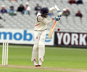 Haseeb Hameed LANCASHIRE COUNTY CRICKET CLUB Emirates Old Trafford LV= County Championship Lancashire v Glamorgan 21/08/15