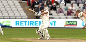Alviro Petersen LANCASHIRE COUNTY CRICKET CLUB Emirates Old Trafford LV= County Championship Lancashire v Glamorgan 21/08/15