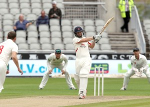 Karl Brown LANCASHIRE COUNTY CRICKET CLUB Emirates Old Trafford LV= County Championship Lancashire v Glamorgan 22/08/15