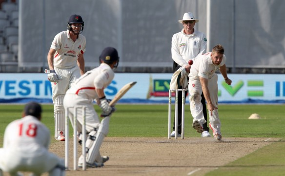 David LLoyd to Alex Davies LANCASHIRE COUNTY CRICKET CLUB Emirates Old Trafford LV= County Championship Lancashire v Glamorgan 22/08/15
