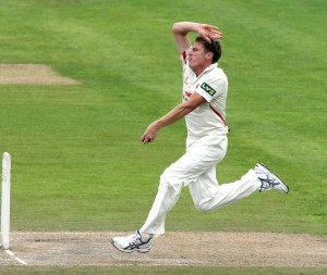 James Faulkner LANCASHIRE COUNTY CRICKET CLUB Emirates Old Trafford LV= County Championship Lancashire v Glamorgan 23/08/15