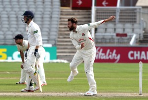 Arron Lilley LANCASHIRE COUNTY CRICKET CLUB Emirates Old Trafford LV= County Championship Lancashire v Glamorgan 24/08/15