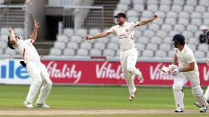 lucky escape for Ingram LANCASHIRE COUNTY CRICKET CLUB Emirates Old Trafford LV= County Championship Lancashire v Glamorgan 24/08/15