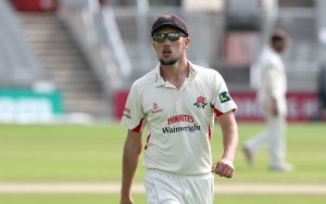 Simon Kerrigan LANCASHIRE COUNTY CRICKET CLUB Emirates Old Trafford LV= County Championship Lancashire v Glamorgan 24/08/15