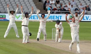 Not Out! LANCASHIRE COUNTY CRICKET CLUB Emirates Old Trafford LV= County Championship Lancashire v Glamorgan 24/08/15