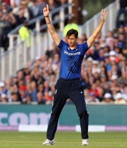Steven Finn ENGLAND v AUSTRALIA Royal London One Day Series LANCASHIRE COUNTY CRICKET CLUB Emirates Old Trafford 08/09/15