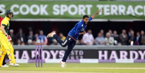 Adil Rashid ENGLAND v AUSTRALIA Royal London One Day Series LANCASHIRE COUNTY CRICKET CLUB Emirates Old Trafford 08/09/15