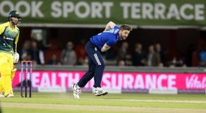Liam Plunkett ENGLAND v AUSTRALIA Royal London One Day Series LANCASHIRE COUNTY CRICKET CLUB Emirates Old Trafford 08/09/15