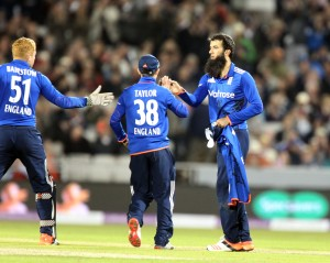 Moeen Ali NGLAND v AUSTRALIA Royal London One Day Series LANCASHIRE COUNTY CRICKET CLUB Emirates Old Trafford 08/09/15