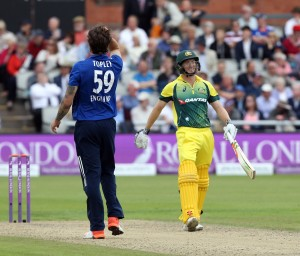 ENGLAND v AUSTRALIA Royal London One Day Series LANCASHIRE COUNTY CRICKET CLUB Emirates Old Trafford 13/09/15