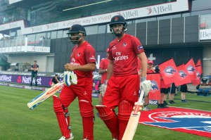 LANCASHIRE COUNTY CRICKET CLUB Emirates Old Trafford Lancashire Lightning v Yorkshire Vikings Nat West t20 Blast 03/07/15