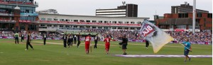 LANCASHIRE COUNTY CRICKET CLUB Emirates Old Trafford Lancashire Lightning v Yorkshire Vikings Nat West t20 Blast 03/07/15