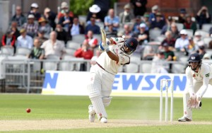 LANCASHIRE COUNTY CRICKET CLUB Emirates Old Trafford LV= County Championship LANCS V GLOUCESTERSHIRE 11/05/15 Day2 Ashwell Prince batting his way to 57