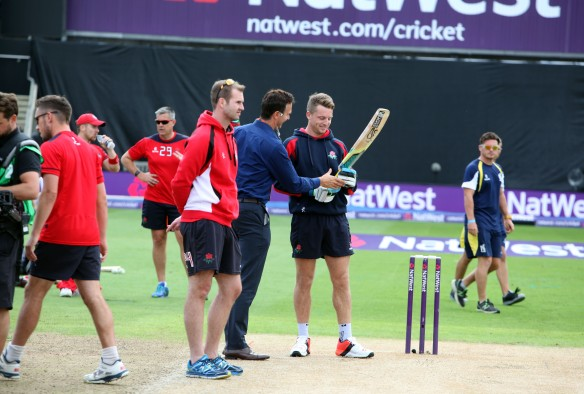 Nat West t20 Blast Finals day Edgbaston LANCASHIRE COUNTY CRICKET CLUB V  Northants 29/08/15