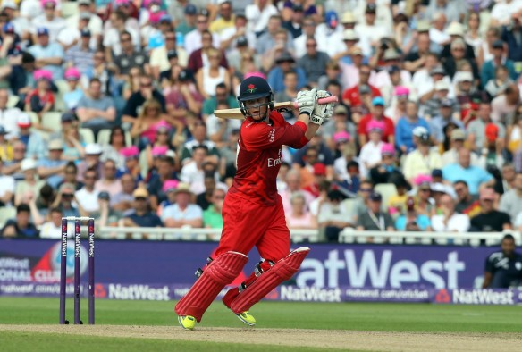 lancs batting Alex Davies Nat West t20 Blast Finals day Edgbaston semi final LANCASHIRE COUNTY CRICKET CLUB v Hampshire 29/08/15