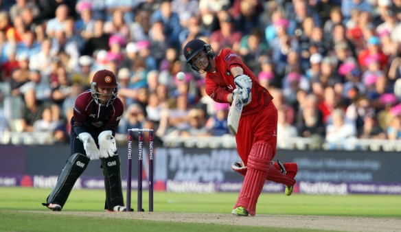 Alex Davies lancs batting FINAL Nat West t20 Blast Finals day Edgbaston LANCASHIRE COUNTY CRICKET CLUB V  Northants 29/08/15