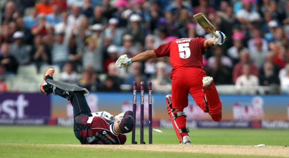Aswell Prince lancs batting FINAL Nat West t20 Blast Finals day Edgbaston LANCASHIRE COUNTY CRICKET CLUB V  Northants 29/08/15